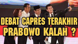 Video DEBAT CAPRES KELIMA DAN TERAKHIR , PRABOWO KALAH ? MP3, 3GP, MP4, WEBM, AVI, FLV April 2019