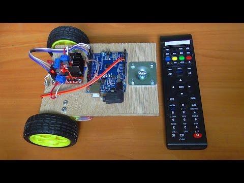 Как сделать пульт дистанционного управления для робота