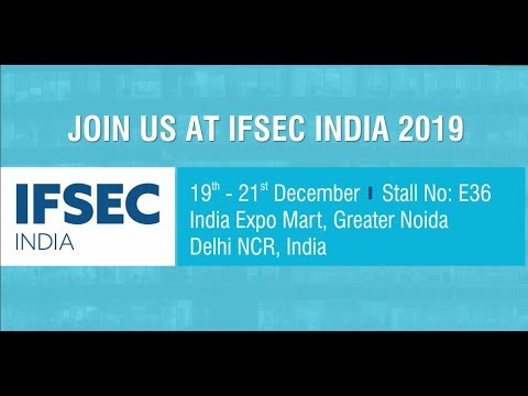 Matrix Comsec at IFSEC INDIA, Delhi | Security Exhibition | 19th -21st December, 2019