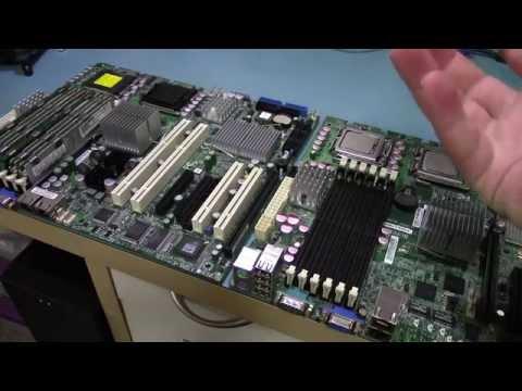 Hackintosh Super Micro Dual Quad Xeon Build (Part 1 of 2 - X7DCA-L Motherboard)