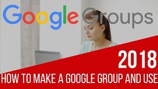 Introduction to Google Groups