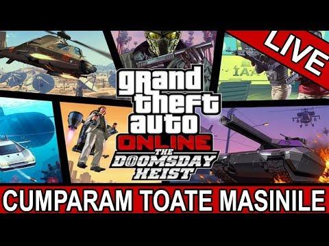 🔴LIVE STREAM GTA V | CUMPARAM TOT DIN NOUL UPDATE (видео)