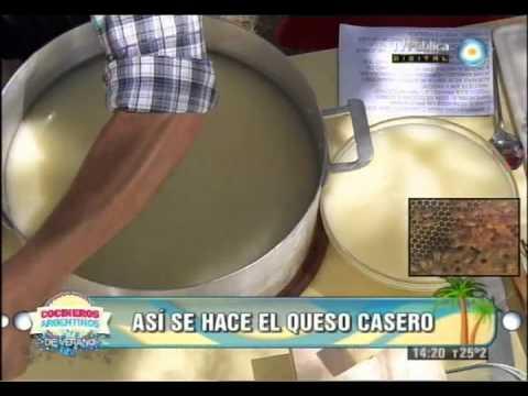 Elaboraci�n de queso artesanal