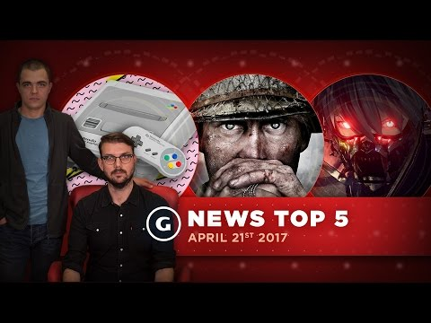 Call Of Duty: WW2 Reveal & Bandai Namco's Upcoming RPG Detailed! - GS News Top 5