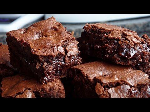 Brownies Triplo Chocolate - receita fácil e rápida