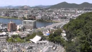日本ライン夏まつり(1)近郷から望む犬山城
