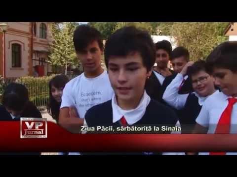 Ziua Internationala a Pacii, sarbatorita la Sinaia
