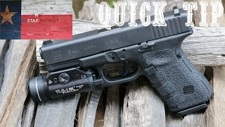 In this video, I show how to remove a Talon grip from a handgun. It's a quick process and typically leaves very little glue residue on the frame, which can be removed by rubbing alcohol.Thanks for watching and subscribing! Keep up the good fight!~The Lonestar Patriot