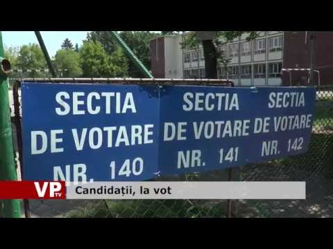 Candidatii, la vot