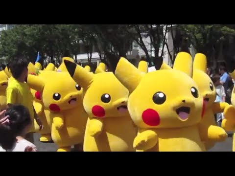 Pikachu Outbreak at Yokohama Japan