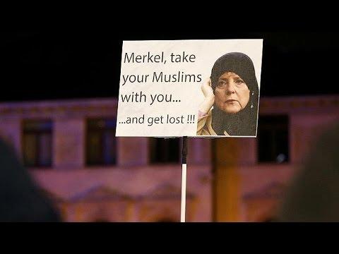 Γερμανία: Διαδηλώσεις υπέρ και κατά προσφύγων στη Λειψία
