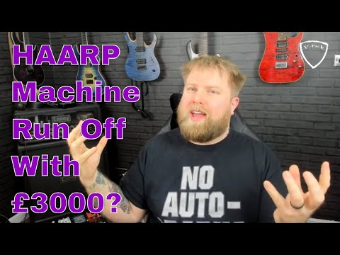 Rage Time! HAARP Machine Delete Indiegogo Content and run off with £3k