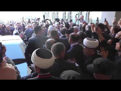 Как встречали российские мусульмане Эрдогана (видео)