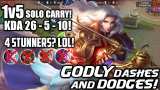 Video TOP GLOBAL LANCELOT IS BACK! 1v5 SOLO CARRY IS POSSIBLE FOR HIM! 150K TOTAL DAMAGE! MP3, 3GP, MP4, WEBM, AVI, FLV Maret 2019