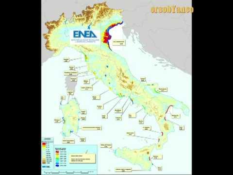 le 33 città italiane che verranno sommerse entro il 2100