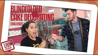 Video Blindfolded Cake Decorating Challenge!  | How To Cake It | Yolanda Gampp MP3, 3GP, MP4, WEBM, AVI, FLV November 2018