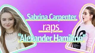 Sabrina Carpenter's Impromptu Performance of Alexander Hamilton by Seventeen Magazine