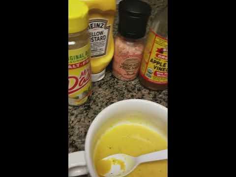 Zero Calories Honey Mustard Dressing