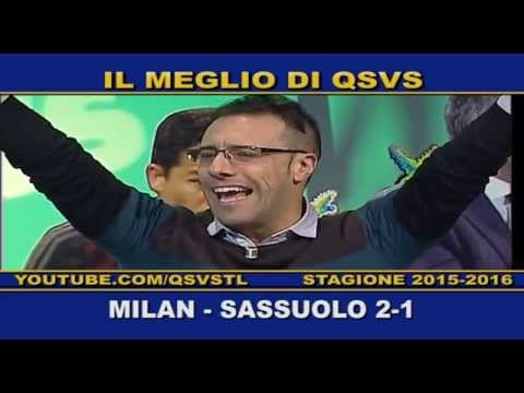 qsvs: i gol di milan - sassuolo 2 a 1