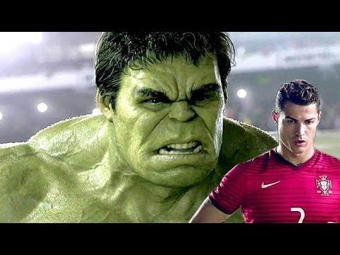 hulk vs cristiano ronaldo & co. (migliore spot nike di sempre)