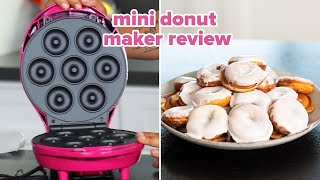 I Tried Betty Crocker's Mini Donut Maker • Tasty by Tasty