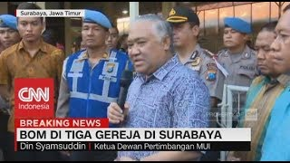 Video Din Syamsudin: Pelaku Terorisme Tidak Terkait Dengan Islam - Bom Surabaya MP3, 3GP, MP4, WEBM, AVI, FLV Juni 2018