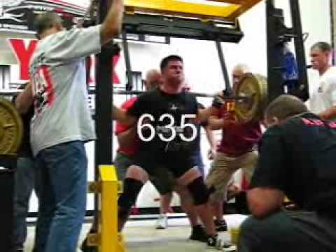 Mike Hanley - York Powerlifting Meet