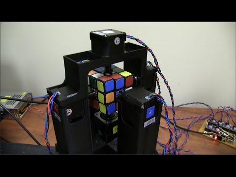 World s Fastest Rubik s Cube Solving Robot