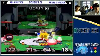 Sweet XXI Doubles Grand Finals – Prince Abu & Drephen vs. Anther & Shaeden