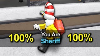 HOW TO GET SHERIFF EVERY TIME IN MURDER MYSTERY 2