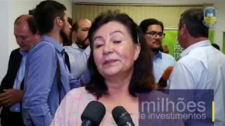Délia assina contrato para 200 casas no Estrela Guaçu