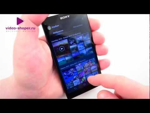 Обзор телефона Sony Xperia ZL (видео)
