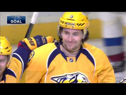 Video: Forsberg scores a hat trick in back-to-back games