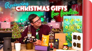 Reviewing Christmas Gifts For Foodies by SORTEDfood