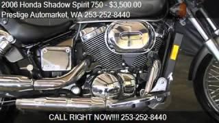 8. 2006 Honda Shadow Spirit 750 for sale in Auburn, WA 98002 at