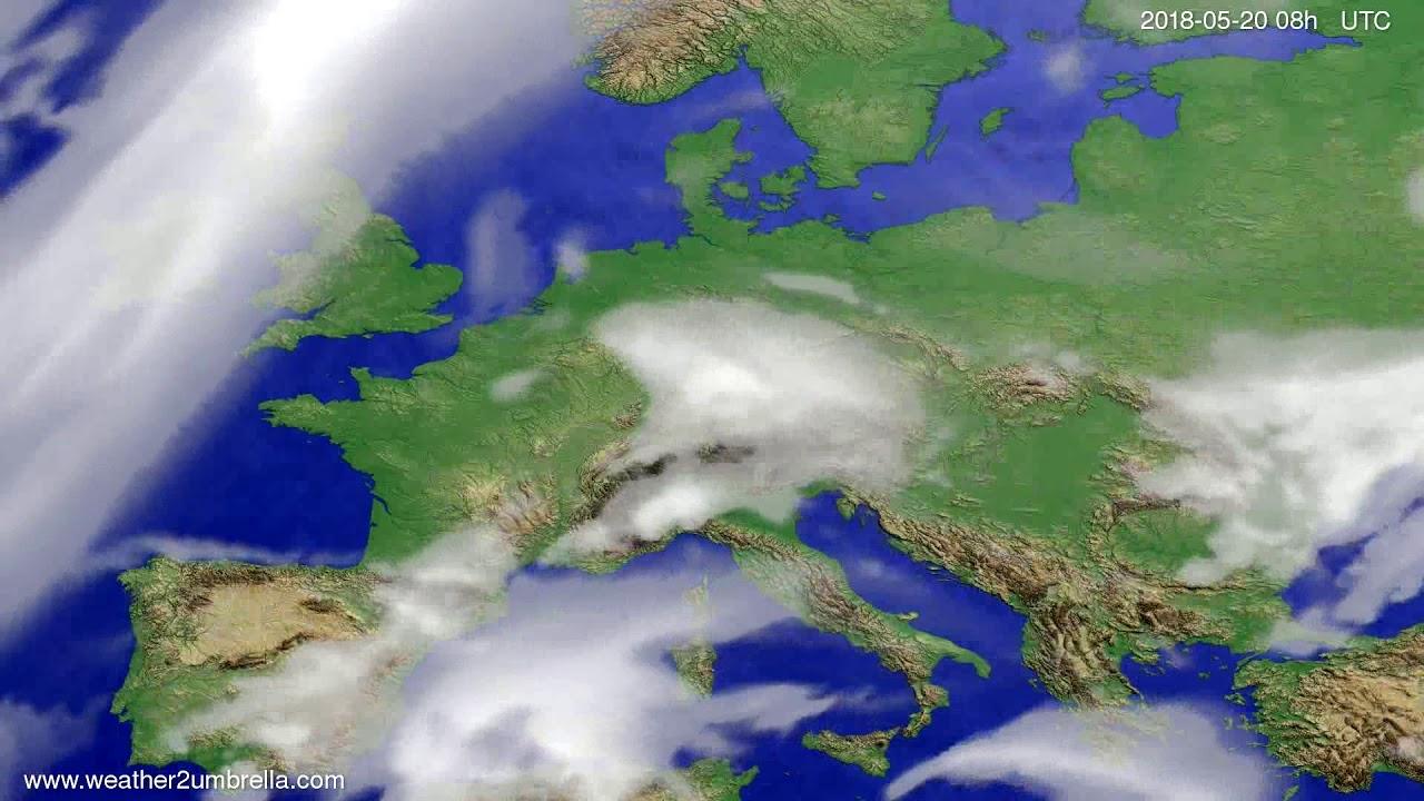 Cloud forecast Europe 2018-05-17