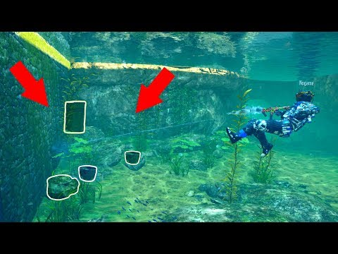 I COULDN'T FIGURE OUT WHERE THEY WERE HIDING UNDER THE WATER!?!?! PROP HUNT ON BLACK OPS 3