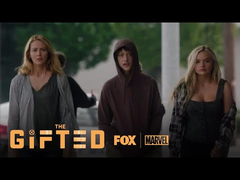The Gifted 1.03 (Clip 'Andy Makes The Parking Meters Explode')