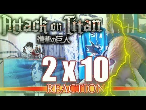 """Attack on Titan: Season 2 - Episode 10 REACTION """"B-E-A-UTIFUL"""""""