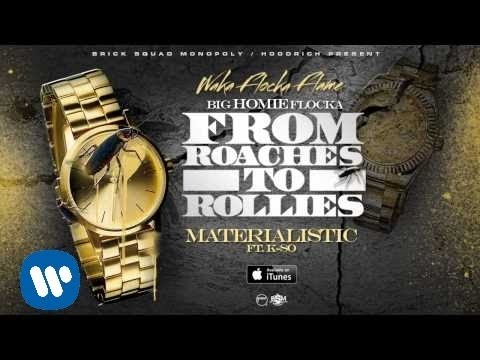 Waka Flocka - Materialistic ft. K-So [Official Audio]