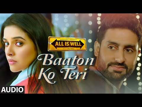 Video 'Baaton Ko Teri' Full AUDIO Song | Arijit Singh | Abhishek Bachchan, Asin | T-Series download in MP3, 3GP, MP4, WEBM, AVI, FLV January 2017