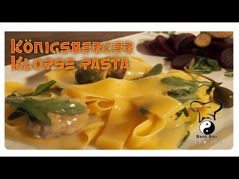 Königsberger Klopse Pasta