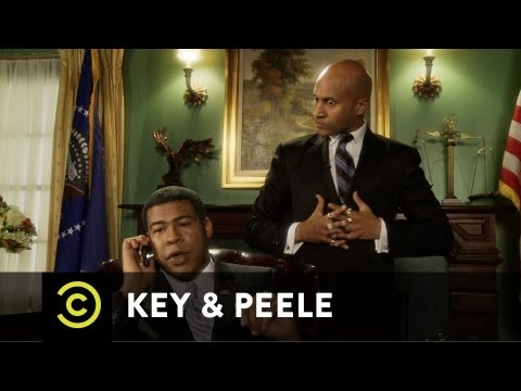 Key & Peele - Obama's Anger Translator - Michelle Calls Barack