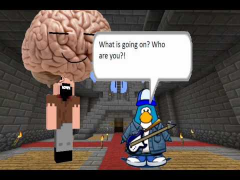 Club Penguin Meets Minecraft 3: The True Maniac