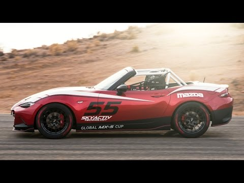 2016 Mazda MX-5 Global Cup Car at #SEMA2014