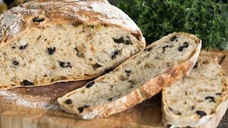 Olive Bread Recipe by Home Cooking Adventure