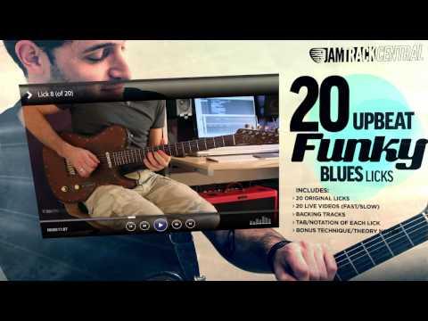 *NEW* 20 Upbeat Funky Blues Licks! – Tab N.2