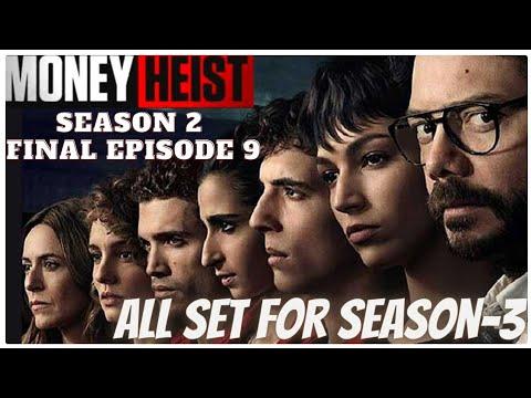 Money Heist Telugu| Season2 Episode9 |Money Heist Explained in Telugu| LaCasa De Papel|Spanish Drama