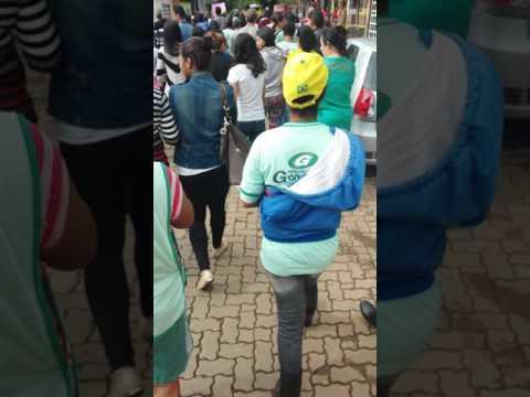 Manifestação contra reforma da previdência em Gonzaga MG