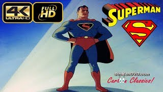 Superman The Mad Scientist is the first in the series of seventeen animated Technicolor short films based upon the DC Comics character Superman. Also known as The Mad Scientist, Superman was produced by Fleischer Studios and released to theaters by Paramount Pictures on September 26, 1941. Superman ranked number 33 in a list of the fifty greatest cartoons of all time sourced from a 1994 poll of 1000 animation professionals, and was nominated for the 1942 Academy Award for Best Animated Short Subject.Streaming up to 4k!8thManDVD.com and all content © 2017 ComedyMX LLC. All rights reserved. Unauthorized use is prohibited.